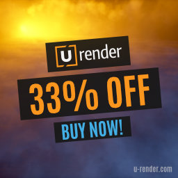 U-RENDER Fall Sale - 33% OFF