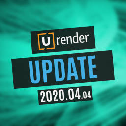 U-RENDER 2020.04.04 Available