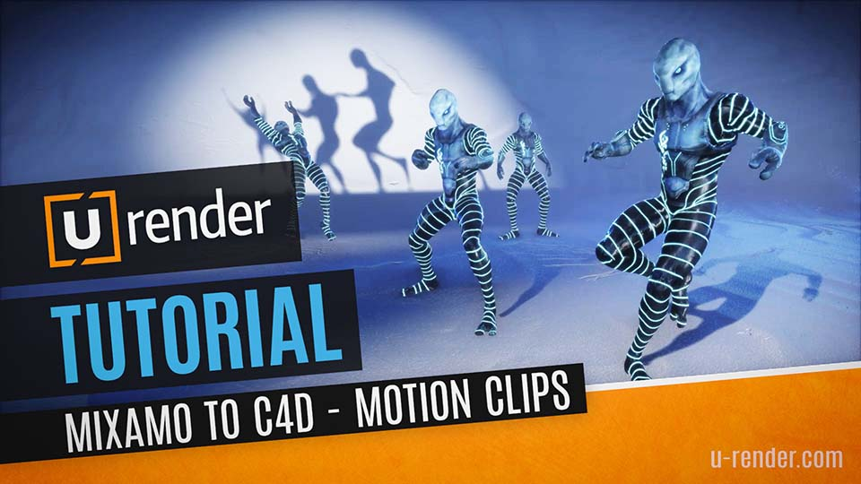 Mixamo Animations in C4D