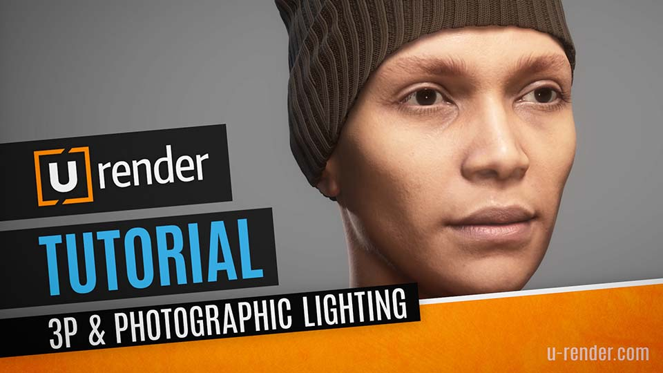How to set up a 3-point photographic lighting